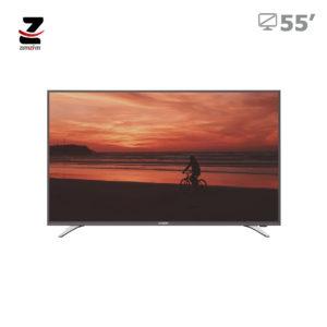 تلویزیون ال ای دی full hd هوشمند ایکس ویژن مدل XT515 سایز 55 اینچ