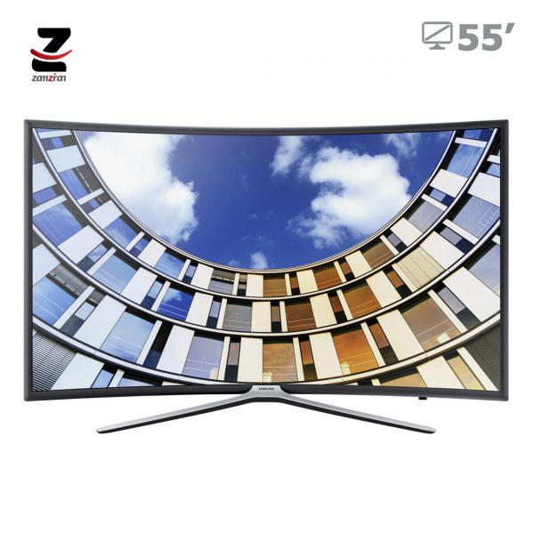 تلویزیون منحنی هوشمند سامسونگ مدل M6500 سایز 55 اینچ