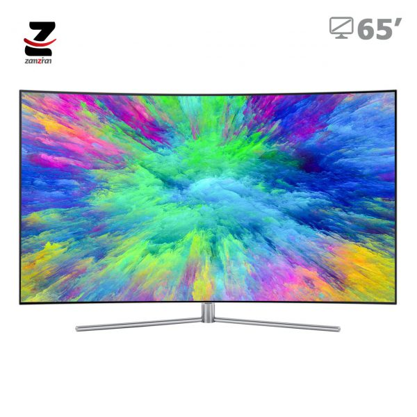 تلویزیون منحنی هوشمند سامسونگ مدل Q7C سایز 65 اینچ