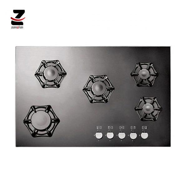 اجاق-گاز-صفحه-ای-استیل-البرز-مدل-IG-573-سری-ایزاتک-شیشه-ای-5-شعله (2)