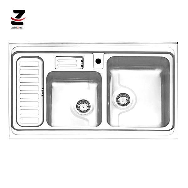 سینک-ظرفشویی-استیل-البرز-مدل-812-روکار-فانتزی-جامایع-01