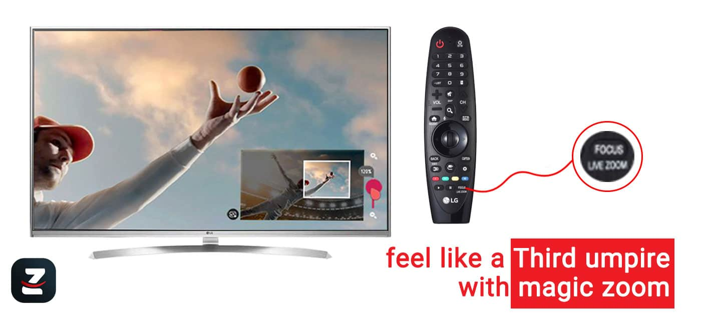 کنترل تلویزیون ال جی uh850v