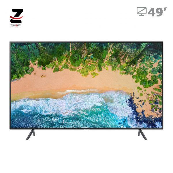 تلویزیون ال ای دی 4K UHD سامسونگ مدل NU7100 سایز 49 اینچ