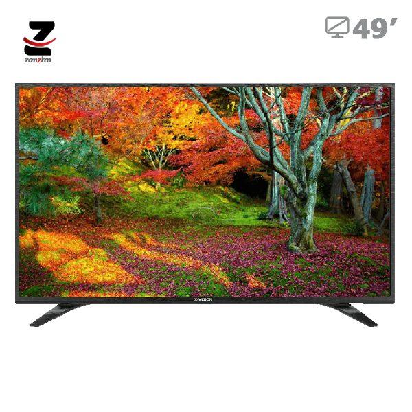 تلویزیون ال ای دی full hd ایکس ویژن مدل XT530 سایز 49 اینچ