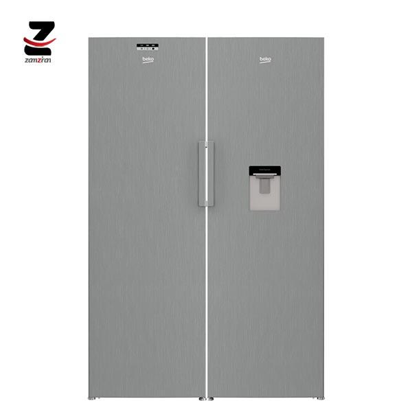 یخچال و فریزر دوقلوی بکو مدل 415M23 DX | 320L23 X