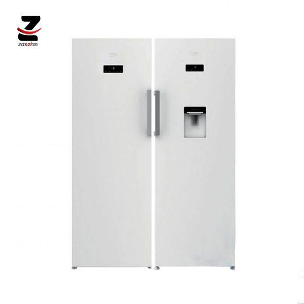 یخچال و فریزر دوقلوی بکو مدل 445E23DE | 350E23E