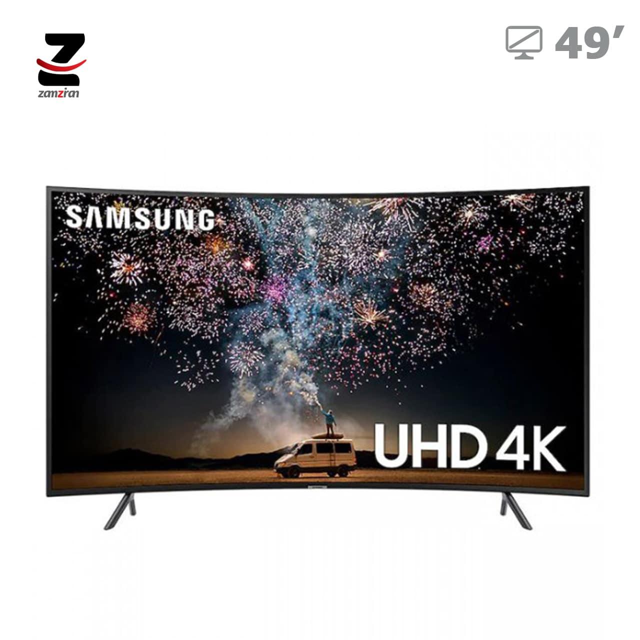 تلویزیون ال ای دی هوشمند 4K Ultra HD سامسونگ سایز 49 اینچ مدل 49RU7300