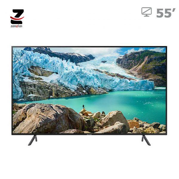 تلویزیون ال ای دی هوشمند Ultra HD - 4K سامسونگ سایز 55 اینچ مدل 55RU7100