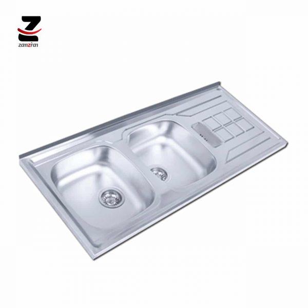 سینک ظرفشویی اخوان مدل 151SP روکار