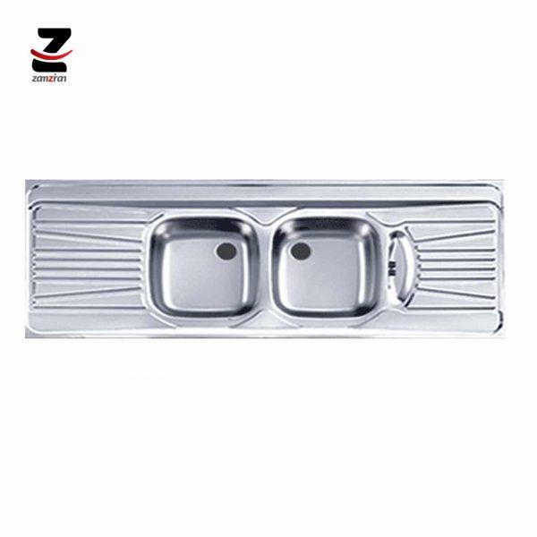 سینک ظرفشویی اخوان مدل 52 روکار