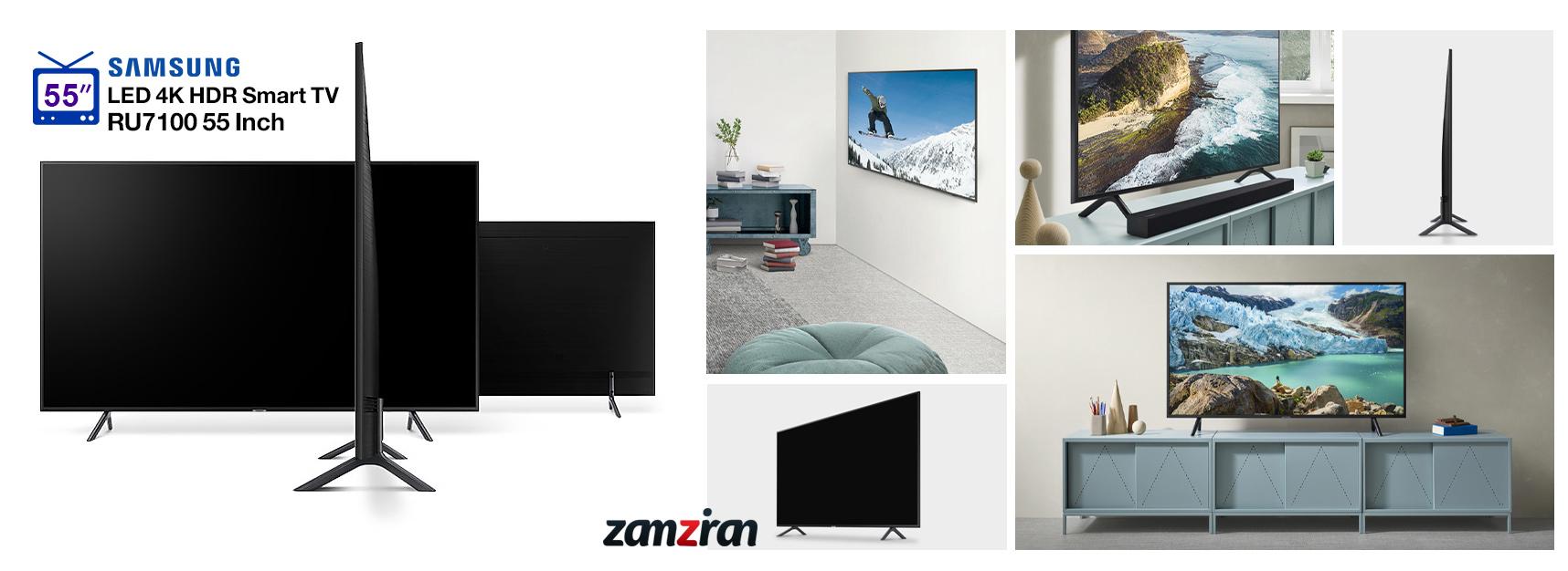 طراحی و ساخت تلویزیون 4K سامسونگ RU7100