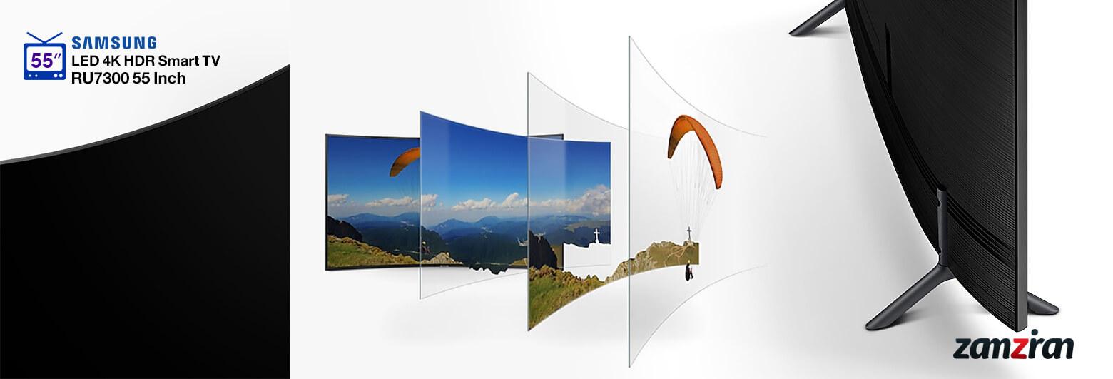 طراحی و ساخت تلویزیون 55RU7300 سامسونگ