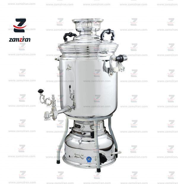 سماور-گازسوز-برادران-سیفی-مدل-ساده-ظرفیت-25-لیتری